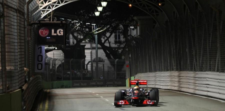McLaren Singapore GP race report