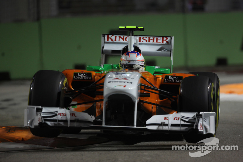 Manager to be 'upset' if Force India drops di Resta