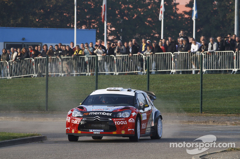 Citroen Racing Technologies Rallye de France event summary