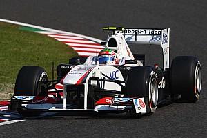 Rookies di Resta, Perez, unwell at Suzuka