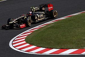 Formula 1 Lotus Renault Japanese GP - Suzuka race report