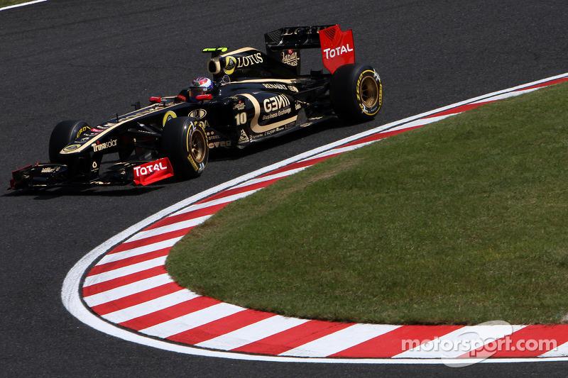 Lotus Renault Japanese GP - Suzuka race report