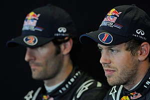 Webber up to speed with Vettel in races - Gene