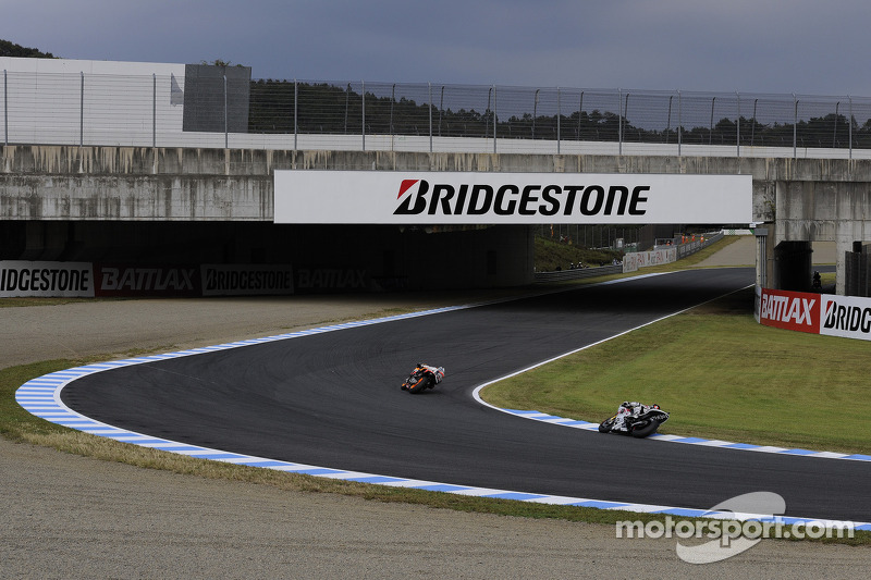 Bridgestone Australian GP tire slection