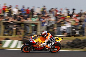 MotoGP Series Australian GP warmup report