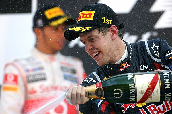 Red Bull takes Constructors' title as Vettel wins Korean GP at Yeongam