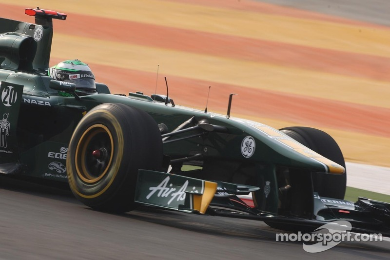 Team Lotus Indian GP qualifying report