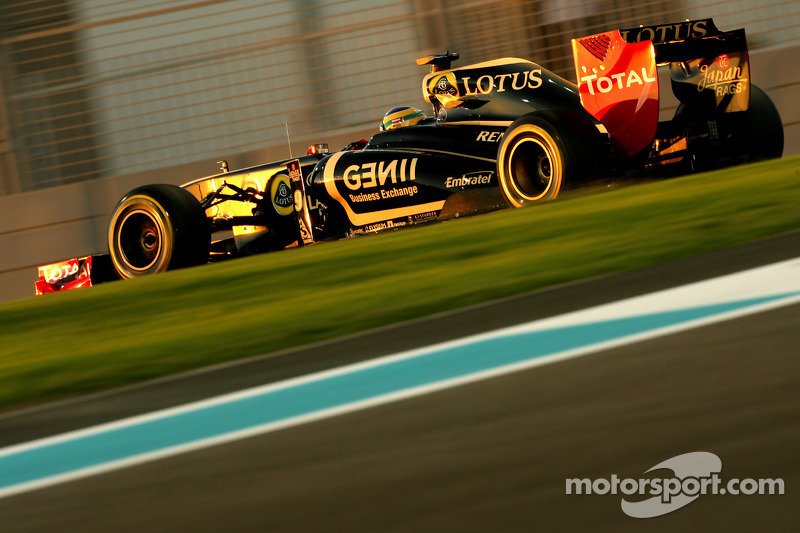 Lotus Renault Abu Dhabi GP Friday practice report
