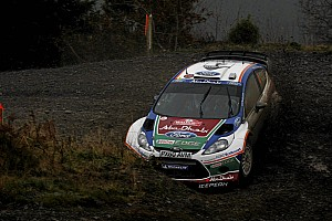 WRC Ford has high and low moments in Wales Rally leg 2