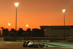 Formula 1 Mercedes Abu Dhabi GP race report