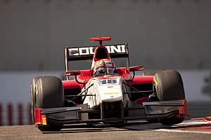 GP2 Scuderia Coloni Abu Dhabi race 2 report
