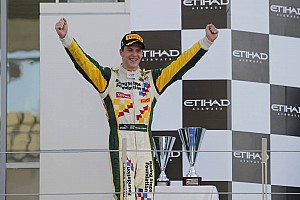 GP2 Lotus ART Abu Dhabi event summary