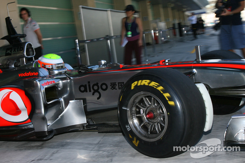 McLaren Abu Dhabi young driver test Thursday report
