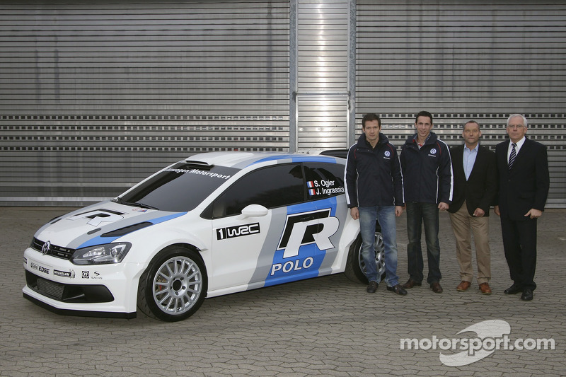 Frenchman Ogier lands Volkswagen factory ride for 2013 entry