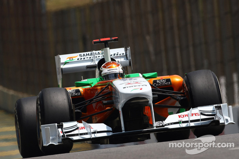 Force India Brazilian GP qualifying report