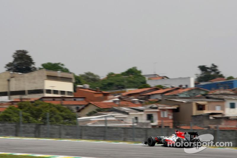 HRT Brazilian GP race report