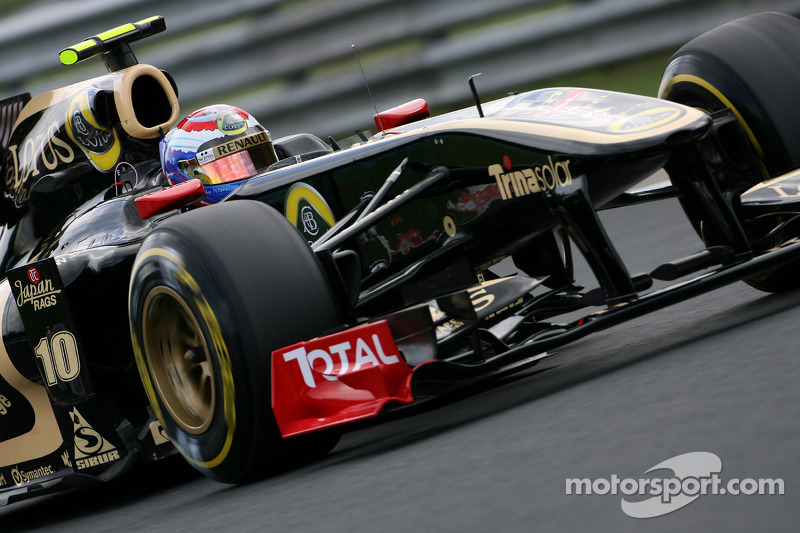 Lotus Renault's James Allison about new 2012 regulations