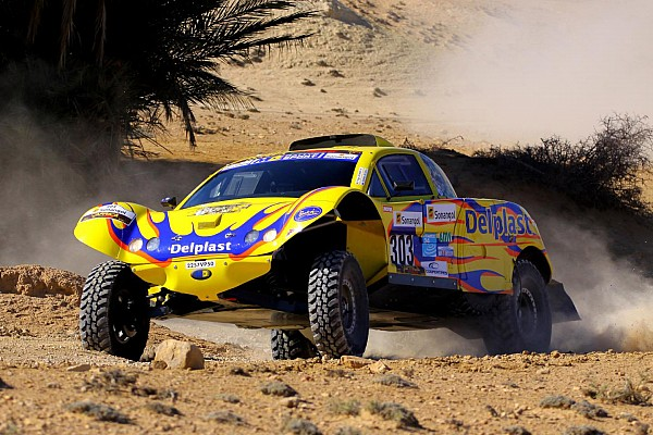 Delahaye leads Schlesser after 1st stage of Africa Eco race