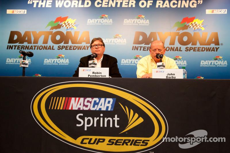 Series Daytona pre-season test interview: Robin Pemberton and John Darby