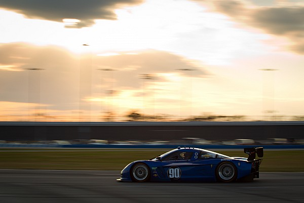 Spirit of Daytona's Gavin on top after six hours of the  Daytona 24H