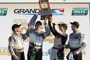 Grand-Am Daytona 24H winning GT team press conference