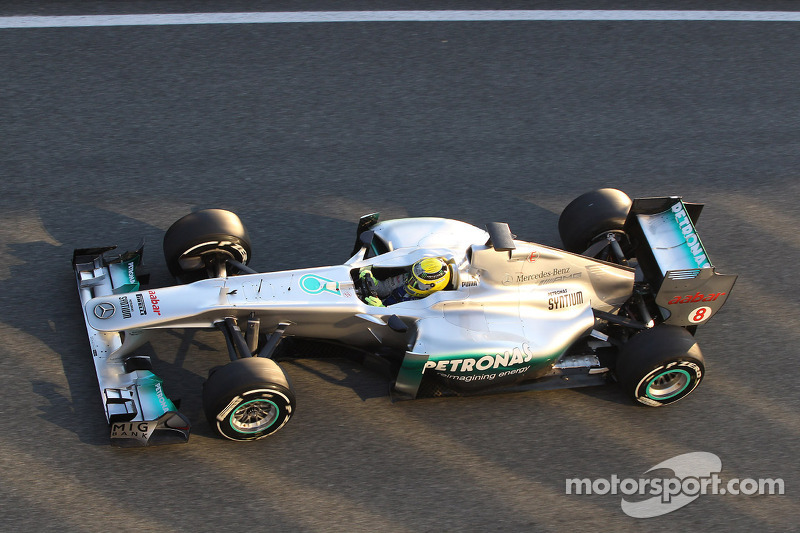 Mercedes Jerez test day 1 report