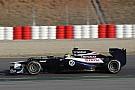 Williams Barcelona testing -  Day 1 report