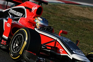 Marussia Barcelona testing -  Day 2 report