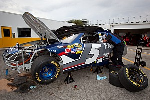 NASCAR Sprint Cup Kahne talks about his Daytona practice crash
