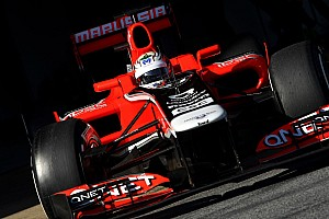 Formula 1 No 'step' on new Marussia car's nose