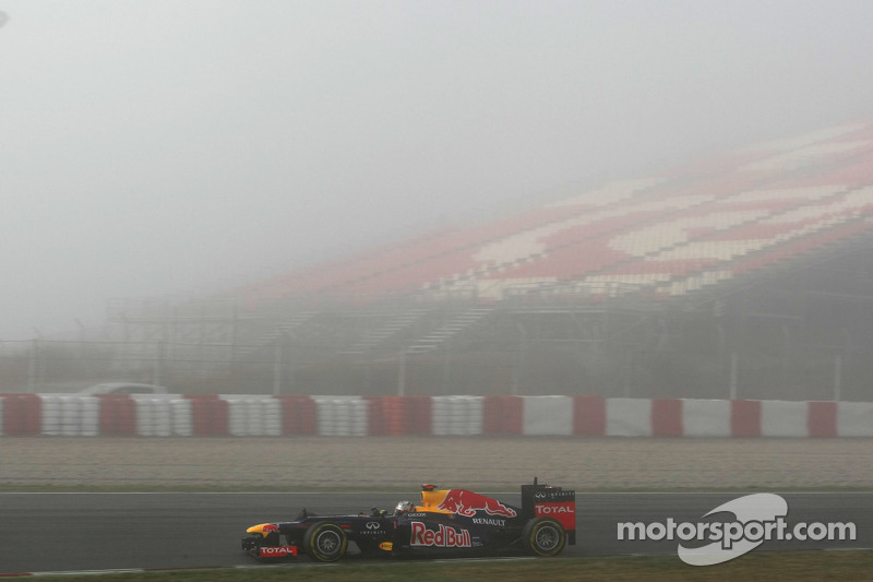 Red Bull Barcelona test II -  Day 2 report