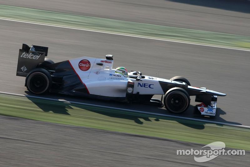 Sauber Barcelona test II -  Day 3 report