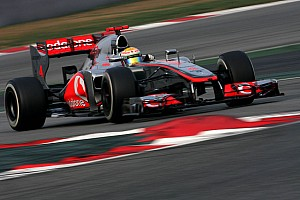 McLaren Barcelona test II -  Day 4 report