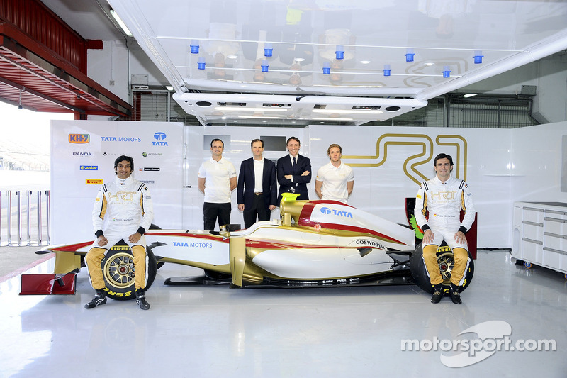 HRT completes 2012 grid with Barcelona debut