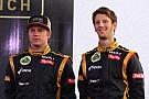 Optimistic Grosjean eyes third for Lotus