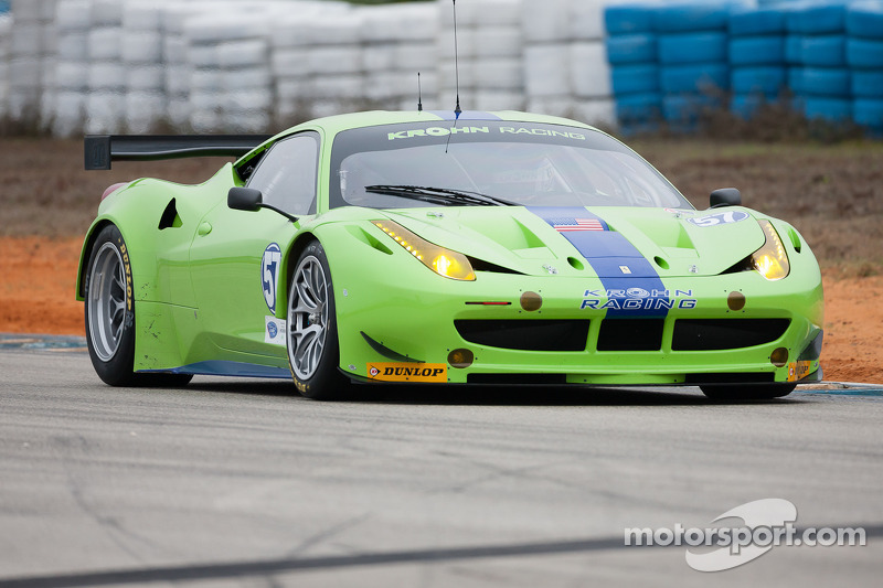 Krohn Racing ready for 2012 season starting at Sebring