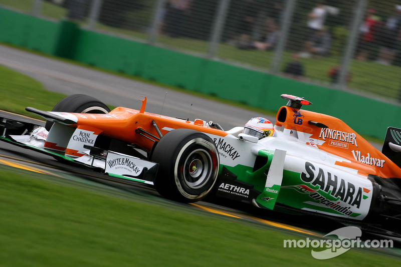 Force India Australian GP - Melbourne Friday practice report