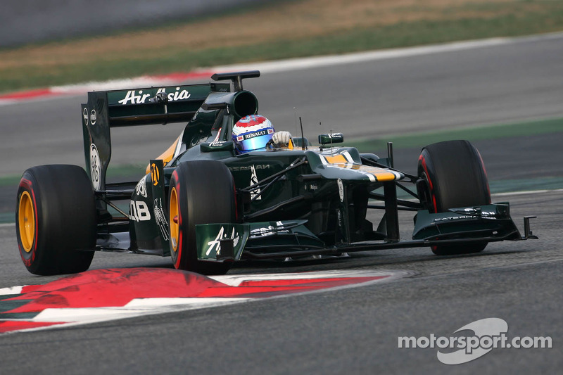 Caterham Australian GP - Melbourne Friday practice report