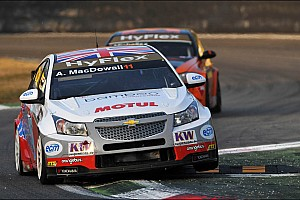 WTCC Joint WTCC Independents Leader Macdowall Aiming For First Win