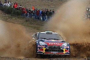 Citroen Rally de Portugal leg 3 summary