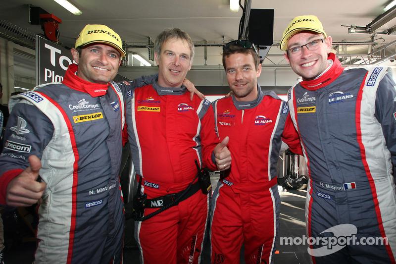 Sébastien Loeb with Sébastien Loeb Racing at Le Mans 24 Hours Test Day