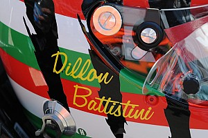 Dyson Racing tests Dillon Battistini