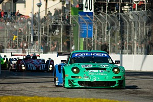 ALMS Team Falken Tire creates taller tire in time for Laguna Seca