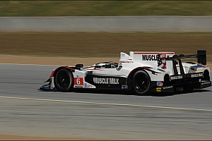 ALMS Graf zooms to Laguna Seca pole in Muscle Milk Pickett Racing HPD ARX