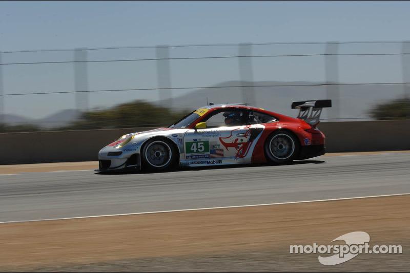 Porsche Laguna Seca qualifying report