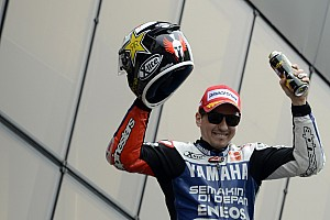 MotoGP Lorenzo wins at rain soaked Le Mans with Rossi second