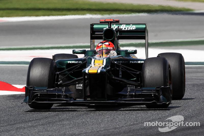 Caterham Spanish GP - Catalunya race report