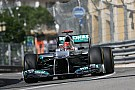 Mercedes teammates spent Thursday on the streets of Monte Carlo