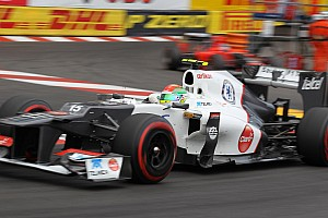 Formula 1 Sauber finds consolation after rough day at Monaco