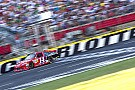 Stewart fights ill-handling car at Charlotte
